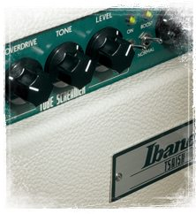 Amplificadores Ibanez de la serie Tube Screamer